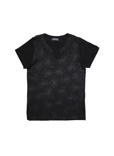 Selen Bluz Siyah